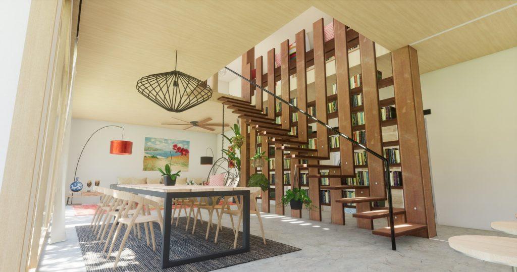 Casa Cube, casa ecológica y modular