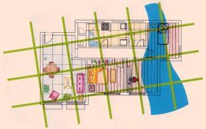la casa ecológica, geobiologia